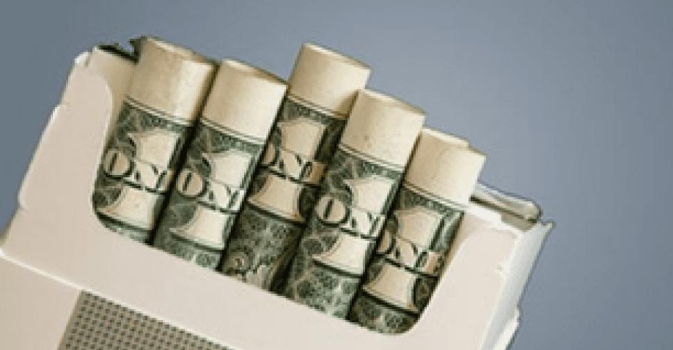 Расчетная стоимость табачных изделий это астра сигареты купить
